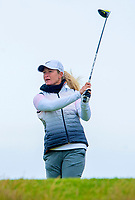 31/07/15 RICOH WOMEN'S BRITISH OPEN<br /> TRUMP TURNBERRY<br /> Suzann Pettersen on the on the 13th tee