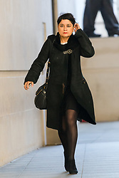 © Licensed to London News Pictures. 18/11/2018. London, UK.  Baroness Shami Chakrabarti, Shadow Attorney General arrives at BBC Broadcasting House to appear on the Andrew Marr show.  Photo credit: Vickie Flores/LNP