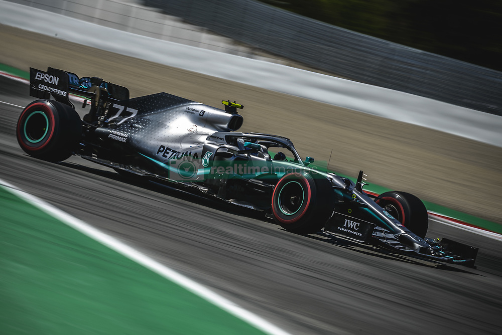 May 12, 2019 - Barcelona, Catalonia, Spain - VALTTERI BOTTAS (FIN) from team Mercedes drives in his W10 during the Spanish GP at Circuit de Catalunya (Credit Image: © Matthias Oesterle/ZUMA Wire)
