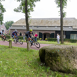 VELDHOVEN (NED) July 4 <br /> CYCLING <br /> The first race of the Schwalbe Topcompetition the Simac Omloop der Kempen<br /> Passage Netersel