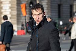 © Licensed to London News Pictures. 04/12/2018. London, UK. London, UK. Brendan Cox, husband of murdered MP Jo Cox, walks near Parliament. Photo credit: Peter Macdiarmid/LNP