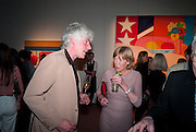 DAVID OGILVY; EMMA SOAMES, Can we Still Be Friends- by Alexandra Shulman.- Book launch. Sotheby's. London. 28 March 2012.