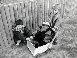 Children at Eastglade infants school, Nottingham UK 1992.  The school closed in 2007