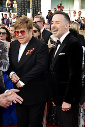 May 16, 2019 - 72nd Cannes Film Festival 2019, Red Carpet Rocketman. Pictured : Elton John, David Furnish (Credit Image: © Simone Comi/IPA via ZUMA Press)