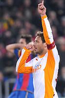 Jubel bei Romas Francesco Totti nach dem 0:2 (Roman Aeschbach/EQ Images)