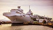 HMS Prince of Wales Aircraft Carrier leaving Rosyth Naval Dockyard on it's way top undertake sea trials.<br /> <br /> Copyright © John Linton 2019<br /> All rights reserved<br /> <br /> Picture Supplied Courtesy of BAE Systems/ACA Alliance<br /> <br /> Kris Jones<br /> Senior External Communications Manager<br /> BAE Systems Naval Ships<br /> <br /> T:  03300 463146 |  M: 07921 867041 / 24 Hour Media Hotline 07801 717739  |  E: kris.jones2@baesystems.com<br /> <br /> John@lintonpix.com<br /> 07986592673