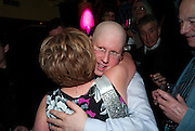 MATT LUCAS WITH HIS MOTHER, Party after the opening of  'Prick Up Your Ear's'  at the Comedy theatre. Cafe de Paris. Leicester Sq. London. 30 September 2009 *** Local Caption *** -DO NOT ARCHIVE-© Copyright Photograph by Dafydd Jones. 248 Clapham Rd. London SW9 0PZ. Tel 0207 820 0771. www.dafjones.com.<br /> MATT LUCAS WITH HIS MOTHER, Party after the opening of  'Prick Up Your Ear's'  at the Comedy theatre. Cafe de Paris. Leicester Sq. London. 30 September 2009