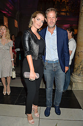 LADY KITTY SPENCER and NICCOLO BARATTIERI DI SAN PIETRO at a private view of Revolution: Records and Rebels 1966-1970 at the V&A, London on 7th September 2016.