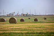 Fracking industry site in Alfalfa County in Northwestern Oklahoma .