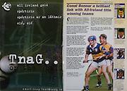 All Ireland Senior Hurling Championship - Final, .14.09.1997, 09.14.1997, 14th September 1997, .14091997AISHCF,.Senior Clare v Tipperary .Tipperary 2-16, Wexford 0-15,.Minor Clare v Galway, ..TnaG,