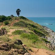 Natural trail on Promthep cape, Phuket, Thailand