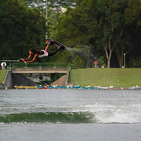 Elite wakeboarding athletes from Singapore and around the region at the 2013 Wakefest Singapore. <br /> <br /> Story: http://www.redsports.sg/2013/09/14/wakefest-singapore-2013-guy-tanaka-wakeboarding/