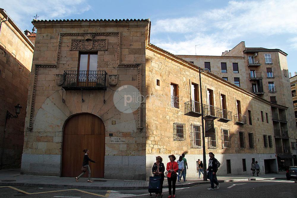 Casa de Doña Maria la Brava. Salamanca ©Country Sessions / PILAR REVILLA