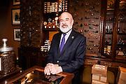 Salesman at Nat Sherman, NYC