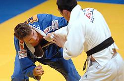 19-03-2006 JUDO: DUTCH OPEN: ROTTERDAM<br /> Mark Huizinga won in Rotterdam een bronzen medaille, in de klasse tot 90 kilo. Huizinga versloeg de Chinees Yanzhu He met ippon / Mark Huizinga<br /> Copyrights: WWW.FOTOHOOGENDOORN.NL