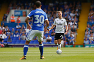 Fulham defender Tomas Kalas (26) runs forward during the EFL Sky Bet Championship match between Ipswich Town and Fulham at Portman Road, Ipswich, England on 26 August 2017. Photo by Phil Chaplin.