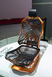 Concept kinetic seat by Lexus at Paris Motor Show 2016