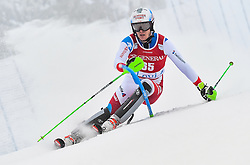 13.11.2016, Black Race Course, Levi, FIN, FIS Weltcup Ski Alpin, Levi, Salalom, Herren, 1. Lauf, im Bild Sandro Simonet (SUI) // Sandro Simonet of Switzerland in action during 1st run of mens Slalom of FIS ski alpine world cup at the Black Race Course in Levi, Finland on 2016/11/13. EXPA Pictures © 2016, PhotoCredit: EXPA/ Nisse Schmidt<br /> <br /> *****ATTENTION - OUT of SWE*****
