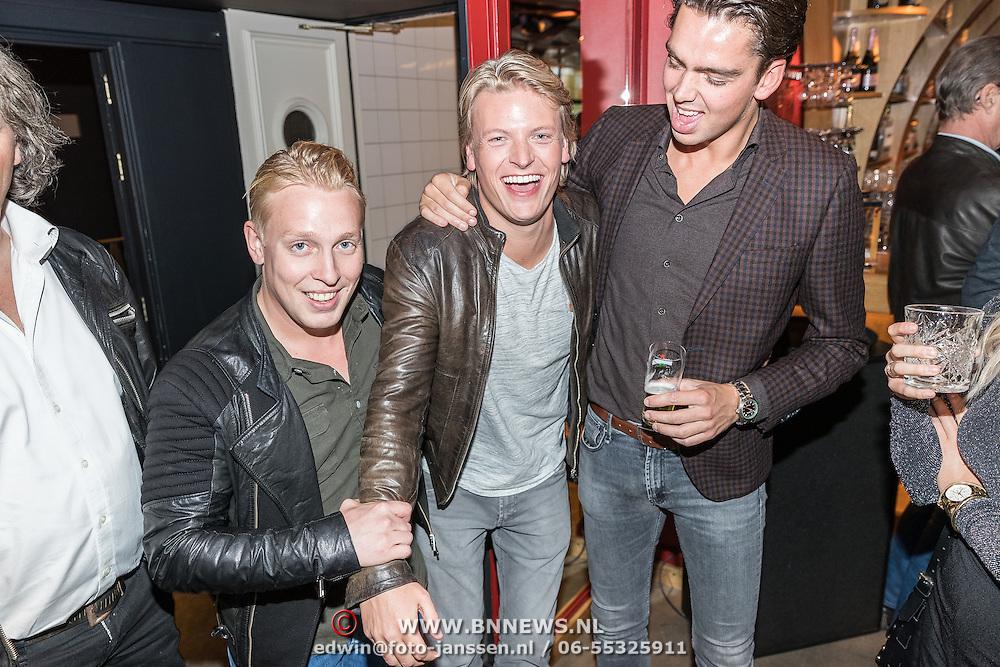 NLD/Amsterdam/20161103 - CD Presentatie Rene Froger, Billy Dans, Thomas Berge en ..........