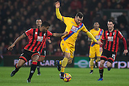Bournemouth defender Adam Smith (15), Crystal Palace midfielder James McArthur (18) during the Premier League match between Bournemouth and Crystal Palace at the Vitality Stadium, Bournemouth, England on 31 January 2017. Photo by Sebastian Frej.