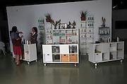 Aloe vera factory shop products on sale, Tiscamanita, Fuerteventura, Canary Islands, Spain