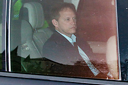 © Licensed to London News Pictures. 16/12/2019. London, UK. Secretary of State for Transport Grant Shapps arrives at the Houses of Parliament.  Photo credit: George Cracknell Wright/LNP