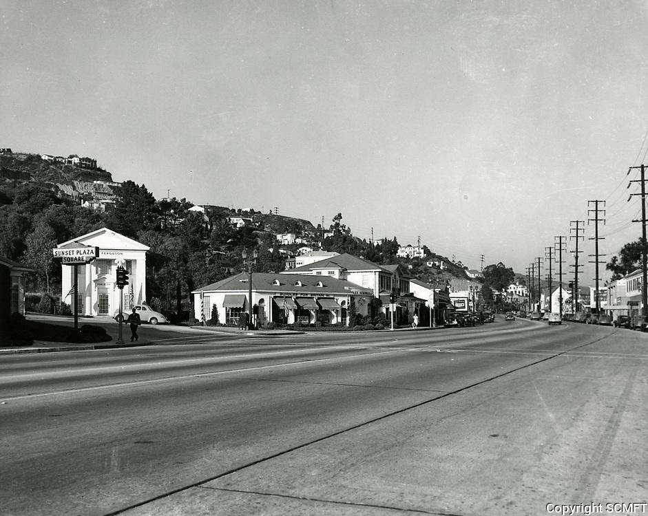 1941 Sunset Blvd. at Sunset Plaza Dr.