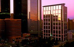Stock photo of 5 Houston Center in downtown Houston,Texas.