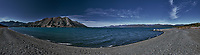 Kulane Lake Panorama. Composite of 8 images taken with a Nkion D3 camera and 24-70 mm f/2.8 lens (ISO 200, 35 mm, f/16, 1/40 sec). Raw images processed with Capture One Pro and the composite created with AutoPano Giga Pro.