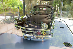 Chiam Weizmann's 1950 Presidential Cosmopolitan Limousine Donated By Henry Ford II.  Only 18 cars were made the others were made for Hary Truman.