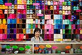 knitting portrait