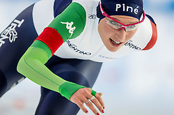 11-12-2016 NED: ISU World Cup Speed Skating, Heerenveen<br /> Francesca Lollobrigida ITA op de 5000 m