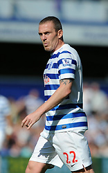 Queens Park Rangers' Richard Dunne - Photo mandatory by-line: Dougie Allward/JMP - Mobile: 07966 386802 - 16/05/2015 - SPORT - football - London - Loftus Road - QPR v Newcastle United - Barclays Premier League
