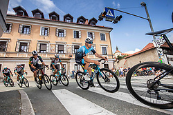Gruffudd LEWIS of RIBBLE WELDTITE PRO during the 5th Stage of 27th Tour of Slovenia 2021 cycling race between Ljubljana and Novo mesto (175,3 km), on June 13, 2021 in Ljubljana - Novo mesto, Ljubljana - Novo mesto, Slovenia. Photo by Vid Ponikvar / Sportida