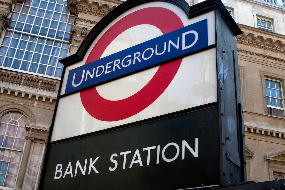 Bank station, London Underground, EC2