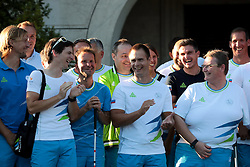 Slovenian Paralympic team during reception of Slovenian Olympic Team at Vila Podroznik when they came back from Rio de Janeiro after Summer Olympic games 2016, on August 26, 2016 in Ljubljana, Slovenia. Photo by Matic Klansek Velej / Sportida
