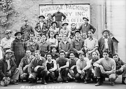 """9025-188. """"Mexican Labor 1945"""" Pinnacle Packing Co. Medford, Oregon."""
