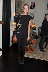 The HON.SOPHIA HESKETH at an exclusive preview of fashion label Fay latest collections held at 21 Collingham Road, London SW5 on 12th June 2012.