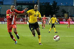 September 3, 2017 - Toronto, Ontario, Canada - Anthony Jackson-Hamel #16 and Taylor #21  during the Canada-Jamaica Men's International Friendly match at BMO Field in Toronto, Canada, on 2 September 2017. (Credit Image: © Anatoliy Cherkasov/NurPhoto via ZUMA Press)