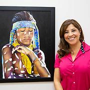 Leticia Mosqueda with Gerardo