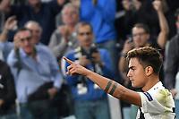 Paulo Dybala of Juventus celebates scoring Esultanza gol 1-0 <br /> Torino 02-10-2018 Juventus Stadium Football Calcio Uefa Champions League 2018/2019 Group H Juventus - Young Boys <br /> Foto Andrea Staccioli / Insidefoto