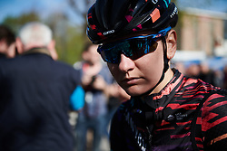 Alena Amialiusik (BLR) at La Flèche Wallonne Femmes 2018, a 118.5 km road race starting and finishing in Huy on April 18, 2018. Photo by Sean Robinson/Velofocus.com
