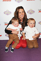 Danielle Lloyd, Sofia The First - Disney Junior launch screening, The May Fair Hotel London UK, 22 February 2013, (Photo by Richard Goldschmidt)
