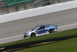 October 19, 2018 - Kansas City, Kansas, United States of America - Alex Bowman (88) hangs out in the garage during practice for the Hollywood Casino 400 at Kansas Speedway in Kansas City, Kansas. (Credit Image: © Justin R. Noe Asp Inc/ASP via ZUMA Wire)