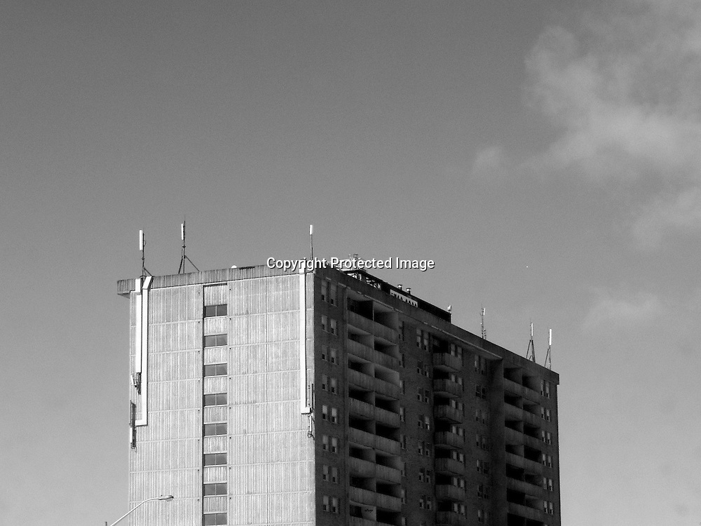 Apartment tower in Knightsbridge area, Brampton, ON.