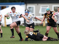 Laura Delgado of Exeter Chiefs - Mandatory by-line: Arron Gent/JMP - 06/03/2021 - RUGBY - Twyford Avenue - Acton, England - Wasps FC Ladies v Exeter Chiefs Women - Allianz Premier 15s