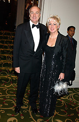 Olympic silver medal winner in 1972 ALAN PASCOE and his wife DELLA at the children's charity ChildLine 19th Birthday Ball held at the Grosvenor House Hotel, Park Lane, London on 29th October 2005.<br />