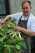 Chef william O'Callaghan at Longueville House.