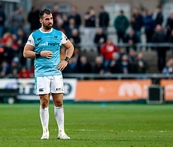 Scott Baldwin of Ospreys<br /> <br /> Photographer Simon King/Replay Images<br /> <br /> Guinness PRO14 Round 12 - Dragons v Ospreys - Sunday 30th December 2018 - Rodney Parade - Newport<br /> <br /> World Copyright © Replay Images . All rights reserved. info@replayimages.co.uk - http://replayimages.co.uk