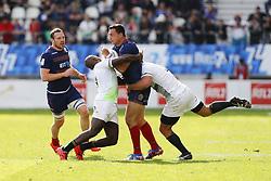 May 14, 2017 - Paris, France, France - Siviwe Soyizwapi (AFS) vs Glenn Bryce  (Credit Image: © Panoramic via ZUMA Press)